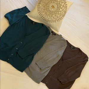 Bundle of 3 Mossimo Cardigans